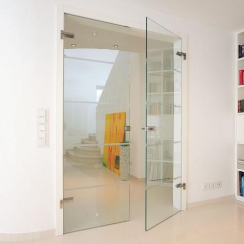 Binnendeur Met Glas.Glazen Deur Op Maat Glasindustrie Van Putten B V