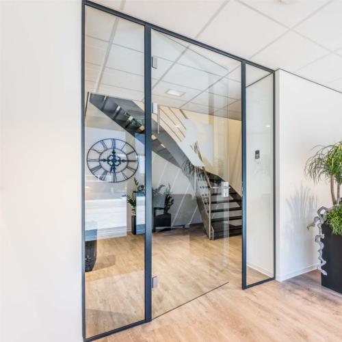 Glazen deur op maat - Glasindustrie van Putten B.V.